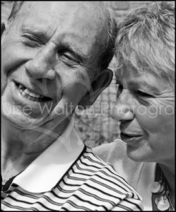 Smiling Elderly father and daughter - Event & Portrait Photographer