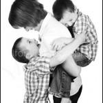 Family Portrait Photography Session at portrait photography studio in Burnham