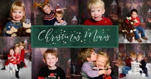 Christmas Minis 2021 Promo Header for Emma-Louise Walton Photography Studio in Burnham, Buckinghamshire